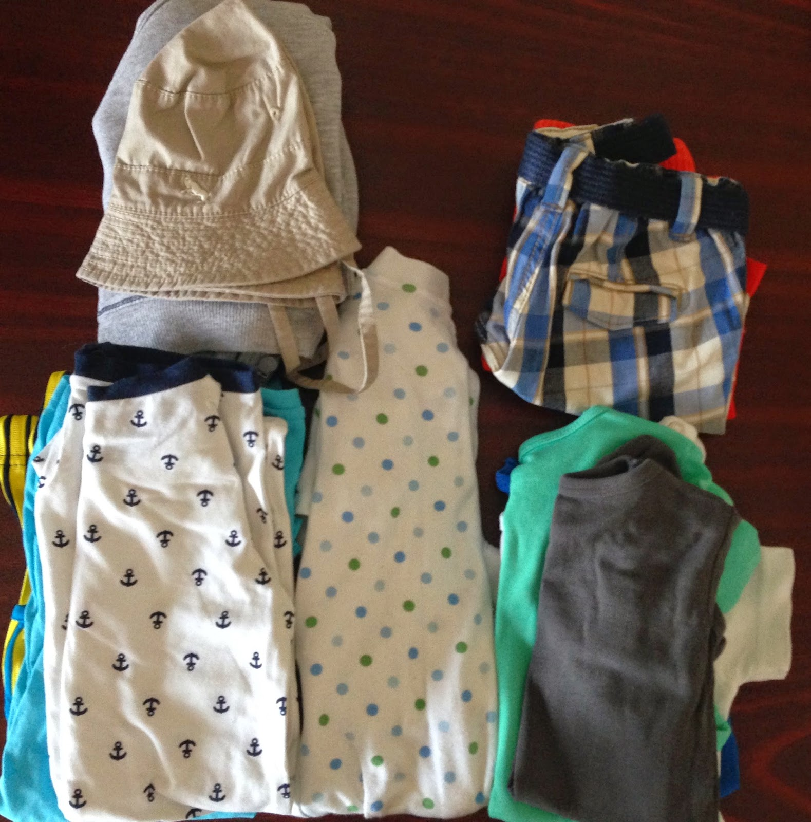 La mare cu bebelusul – Pregatiri
