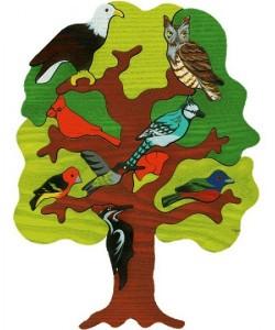 Fauna Copac cu pasari - regiunea America de Nord 99 lei producator Fauna-500x600
