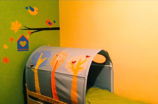 Camera copilului decorata chiar de el (+ un concurs pentru voi)