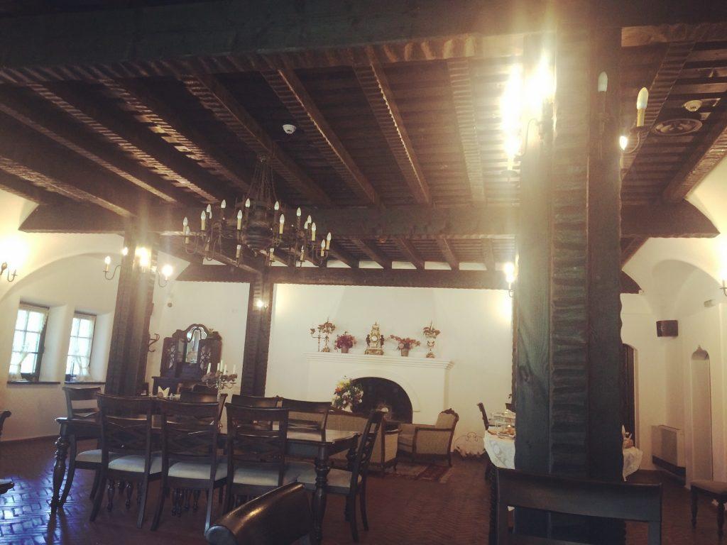 Interiorul restaurantului