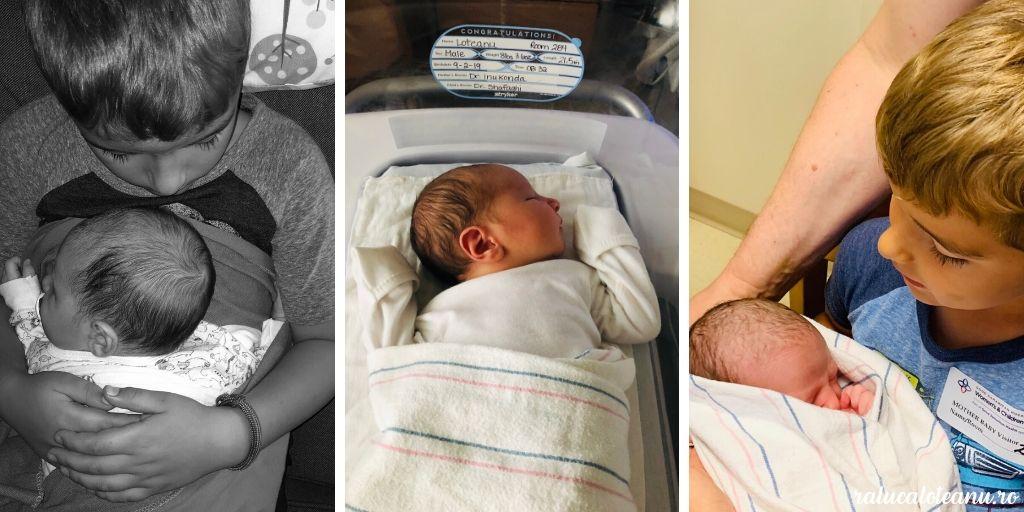 7 luni cu bebe Adrian