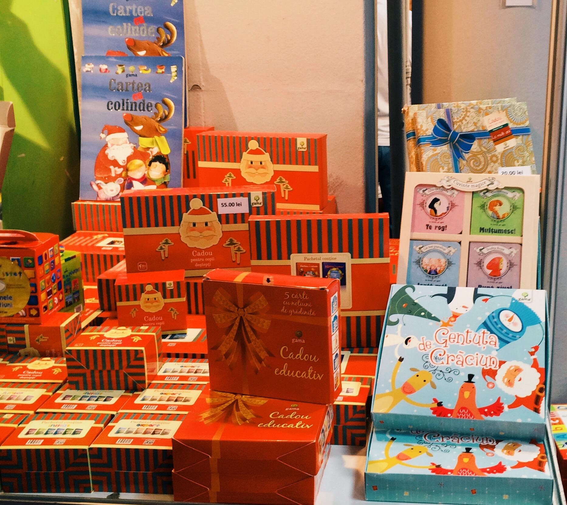 Carti si materiale pentru cei mici, de la targul Gaudeamus